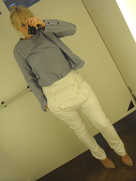 Bless Shopperbagtop, Esther Perbandt Freak of Nature Trousers