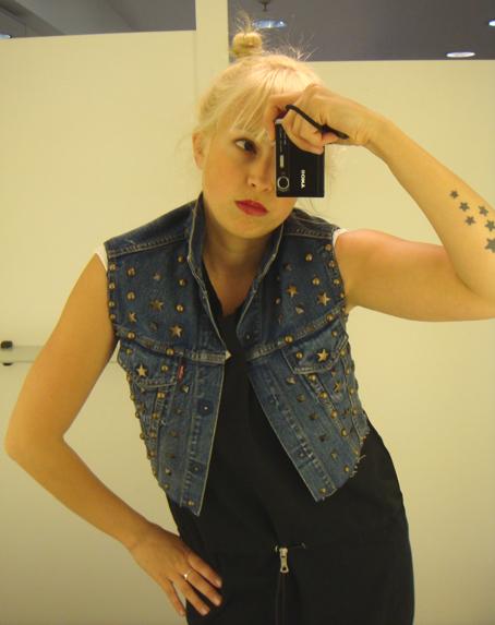 Levi's Cat Power Studded Vest