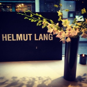 Helmut Lang showroom