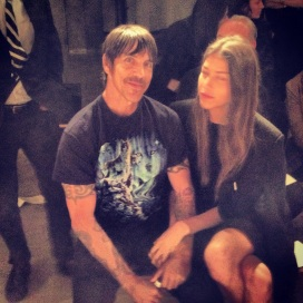 Anthony Kiedis at Edun Fashion Show
