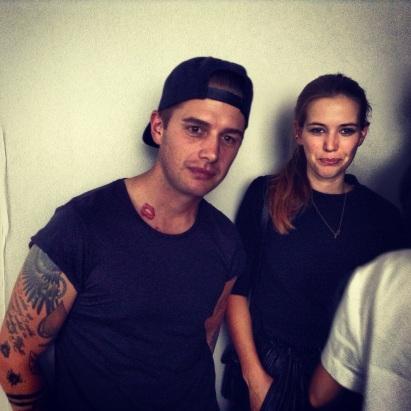 Martin und Anne-Sofie (Acne Studios)