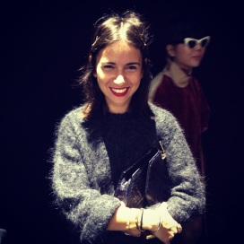 Natasha Goldenberg at Acne Show Paris