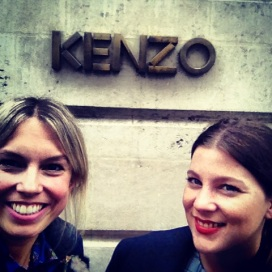 Kenzo Showroom Paris with Jessie